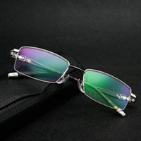 Wholesale multicolor spectacles frames resale online - Business Eyeglass Frames for Men Half Rim Glasses Frame Optical Frame Spectacle Frames YS