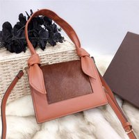 babe6e6a4b21 famous brand designer shoulder bag and handbag for women decorate with  horse fur and Rabbit ears modeling high quallity elegant lady bags