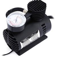 компрессор давления в шинах оптовых-DC12V 300PSI автомобильная шина Inflator авто воздушный компрессор шин насос с манометром для автомобиля велосипед мяч резиновые лодки