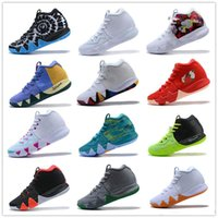 Wholesale team basketball shoes for sale - Group buy 2019 Hot Ky Cheap Irving Basketball Shoes Sale Mens Designer High Quality Colorful Team Outdoor Trainers Sports Shoe