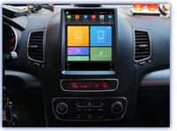 Wholesale kia sorento radio bluetooth resale online - HD IPS Big screen Tesla Screen Vertical Screen Android Car PC GPS Navigation Radio G LTE Player For KIA Sorento