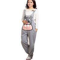 Wholesale maternity winter clothes trousers for sale - Group buy Gravidas Jumpsuit Maternity Pants Long Pregnancy Clothes For Pregnant Women Overalls Roupa Gestante Trousers Autumn Winter Y19052003