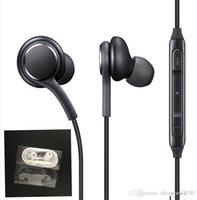 oem auriculares al por mayor-2018 nuevos auriculares S8 Auriculares internos negros genuinos EO-IG955BSEGWW Auriculares manos libres para Samsung Galaxy S8 S8 Plus Auriculares originales