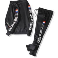 chaquetas 8xl al por mayor-Otoño Gosha Moda para hombre Chándales Diseñador Chaqueta con cremallera Pantalones casuales 2pcs Conjuntos de ropa Trajes de pista 6XL 8XL