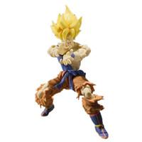 batalha super bola dragão venda por atacado-Dragon Ball Super Saiyajin Damage Danos Caroline SHF Despertar Goku Super Guerreiro Despertar Edição Móvel Presente de Aniversário