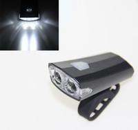 mtb led scheinwerfer großhandel-Wiederaufladbare LED Fahrrad Taschenlampe Lampe MTB Front Fahrrad Radfahren Scheinwerfer Scheinwerfer Fahrrad Fahrrad Zubehör