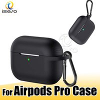 Wholesale retail earphone boxes for sale – best For Airpods Pro Soft Protective Cases Ultra Thin Creative Design for Airpods Pro with Anti lost Hook for Airpod Case Retail Packaging izeso