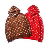 chignon venda por atacado-K701LV Q701O estilo clássico Supremo outono hoodie do inverno camisola de luxo com capuz camisola hoodies pulôver