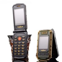 celulares dual screen sim card venda por atacado-Original tkexun g5 mulheres flip telefone móvel duplo dual câmera de tela bluetooth dual sim card 2.4 polegada tela de toque de telefone celular de luxo