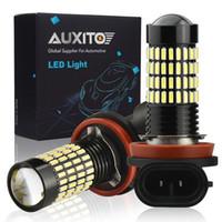 Wholesale h9 lamp for sale - Group buy AUXITO x H8 Fog Lights H11 H9 For Tucson Creta Kona IX35 Kia Rio K2 K5 KX5 Led Light for Car Lamp Bulb