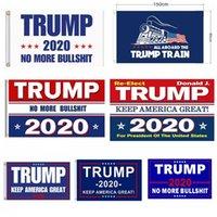 bandeiras ao ar livre venda por atacado-Trump Bandeiras 90 * 150 cm Jardim Ao Ar Livre Decorar EUA Presidente Geral Eleição Banner 2020 Trump Bandeira Galhardete Banner 5077