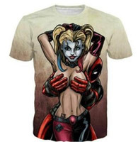ropa de camarero al por mayor-New Dead Waiter Imprimir camiseta Sexy Trend Brand Designer T-shirt Hip Hop Ropa Hombre Moda Casual Camiseta Tamaño S-XXXXL