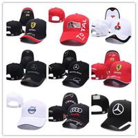 chapéus rossi venda por atacado-Boa Venda Da Motocicleta 3d Bordado F1 Tampão de Corrida Das Mulheres Dos Homens Snapback Caps Rossi Vr46 Boné de Beisebol Chapéus Yamaha