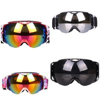 Wholesale snow ski goggles for sale - Double Deck Antifogging Ski Goggles Windbreak Snow Blindness Prevention Fit Goggle Resistance To Fall Anti Wear Factory Direct al I1