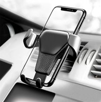 car holder cell phone großhandel-Autotelefonhalter Für Telefon In Auto Air Vent Halterung Ständer Armaturenbrett Unterstützung Handyhalter Universal Schwerkraft Smartphone Zelle Unterstützung