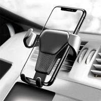 universal-smartphone-autohalterung großhandel-Autotelefonhalterung für das Telefon im Auto Halterung für Lüftungsschlitze Armaturenbretthalterung Handyhalterung Universal Gravity Smartphone Cell Support
