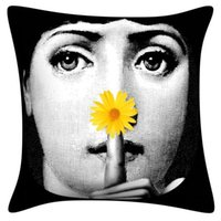 Wholesale pillow case art for sale - Group buy Pillow Case Women Face for Art Bedroom Living Room Home Hall Decorative Cushion Pillow Cover Sofa Cushion Cover