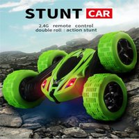Wholesale remote control big toy cars resale online - Trick Roll Car Toy Electric Child Remote Control Cars Boy Popular Birthday Gift Resistance To Fall Anti Wear Hot Sale ch I1