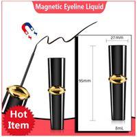 Wholesale new makeup tools online - 8ML Magnetic Liquid Eyeliner for magnetic eyelashes new hot long lasting waterproof eye lashes eyeliner black makeup tools