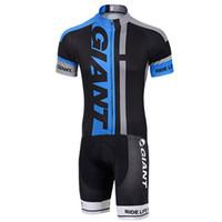 traje de lycra al por mayor-Trajes de ciclismo para hombres GIGANTES personalizados lycra bike triathlon speeduit trisuit running body trajes traje de baño jumpsuit