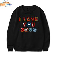 Wholesale women hips i resale online - New Print I Love You Times O neck new print Women Pullovers Hip Hop Sweatshirts cool Logo High Quality Clothes