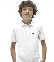 ingrosso ragazzo ragazzo-Bambini Neonati Abbigliamento marca bambino Top Tee Designer Polo ragazzi ragazze T-shirt tute boy girl magliette Camiseta Camisa de polo