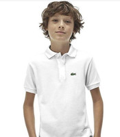 Wholesale linen baby boy clothes resale online - Children Baby Kids Clothing child Tops Tee Designer Polos boys girls T shirt tracksuits boy girl t shirts Camiseta Camisa de polo