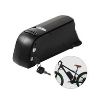 bisiklet aküsü usb toptan satış-36 V 13ah 650 W yunus elektrikli bisiklet için şarj edilebilir lityum pil pil downtube ebike pil USB portu ile şarj göndermek