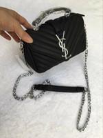 çanta için yeni stiller toptan satış-Sıcak Satış Marmont Omuz Çantaları Kadın Zincir Crossbody Çanta Çanta Yeni Çanta Kadın Deri dimi Stil Messenger Çanta Ücretsiz Kargo