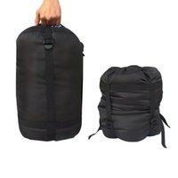 bolsa de montañismo al aire libre al por mayor-Compresión a prueba de agua Saco Saco Ligero Paquete de almacenamiento de bolsa de dormir al aire libre Para Camping Senderismo Montañismo MMA1880