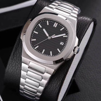 Wholesale second hand glass for sale - Group buy 19 colors mens watch automatic movement Glide sooth second hand sapphire glass silver and gold wristwatch