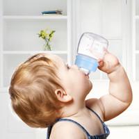 ingrosso bottiglia del bambino nuovo-New Home Baby Mini Bottiglia d'acqua Creativo bloccato Acqua di plastica a prova di perdite Sport Bottiglia per l'acqua Bambino Bicchiere da tè Ciclismo