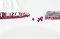 luzes de quartzo venda por atacado-Novo 6mm Jade Diamante Ruby Terp Bola Pérola Inserir Vermelho Roxo Luz de armazenamento de Pérolas Bola de Rubi Inserção para Banger De Quartzo PregoFree entrega