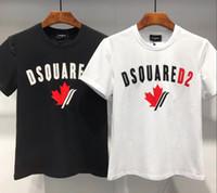 ropa de canadá al por mayor-2019 Verano Nueva camiseta con estampado de Canadá Hombres Slim Fit Moda 100% Algodón Vintage DS2 Camisetas Ropa de alta calidad DT450