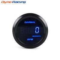 medidor digital azul venda por atacado-Dynoracing car tacômetro 2