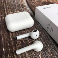 ingrosso scatole di mele-I10 MAX TWS con Charing Box Mini Auricolari Bleutooth Cuffie Auricolari wireless Auricolari V4.2 per Apple Smartphone Android Samsung
