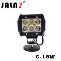 nebelscheinwerfer für boote groihandel-4-Zoll-Cube-Punkt-Flut Lichtstrahl 18W LED-Arbeitslicht, die Nebel-Lichter für Jeep ATV UTV Boot Geländewagen LKW 4X4 Off Road