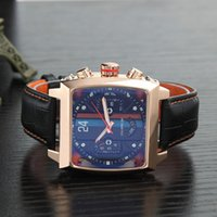 смотреть мужчин оптовых-Высокое качество механические часы тег многофункциональный досуг спортивный бренд мужские часы
