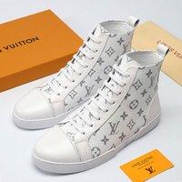 deri dövmeli toptan satış-Erkekler Ayakkabı Sneakers Nefes Moda Eğitmenler Zapatos de adam TATTOO SNEAKER BOOT Sıcak Erkek Ayakkabı Ayak Bileği Çizmeler Moda M # 5 Deri Büyük Boy