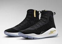 satılık kara kutular toptan satış-Sıcak Currys 4 çocuklar Kutuları Ile satılık Dimes Basketbol ayakkabıları Stephen Currys Siyah Finalleri ayakkabı ücretsiz kargo US4-US12