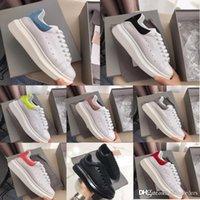 calçados casuais azuis reais venda por atacado-CestasalexanderMcqueensSapatas Dos Treinadores Dos Homens da mulher Designer de Luxo Branco Preto Sapatos Casuais Menina Mulheres Homens Vestido Plana Sapatilhas