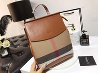 подростковые сумочки оптовых-2019 Роскошный искусственный кожаный рюкзак Vintage Split Leather Women Backpacks Женская сумка через плечо Школьная сумка для девочек-подростков Женские сумки