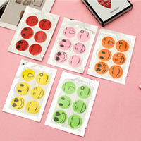 6000 PCS (1 set=6pcs) Anti Mosquito Control Sticker Patch Citronella Killer Smiling Face Repellent