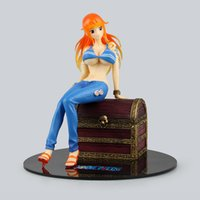 нами цифры действий оптовых-Новый горячий 20 см Nami One piece treasure фигурку игрушки коллекция Рождественская игрушка кукла