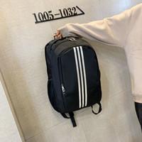 ingrosso borse da viaggio per uomini-ADIDAS Borsa del progettista del nuovo marchio di moda Borse da scuola stampate da viaggio di lusso da esterno per uomo Donna Studenti Zaini Borsa a tracolla doppia