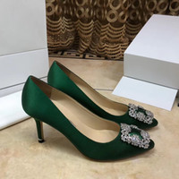 Wholesale grey pumps for women for sale - Group buy 2019Women Patent Poined Toe Women Pumps Fashion Bottom High Heels Shoes for Women Wedding shoes by woman shoes