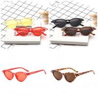 reine augen großhandel-Marke Cat Eye Eyewear Leicht Zu Reinigen Damenmode Sonnenbrillen Trend Vintage Shaped Reine Farbe Schauspiele 4zh I1