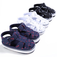 детские сандалии для новорожденных оптовых-Baby Kids Girl Boy Soft Sole Crib Sandals Toddler Newborn Sneakers Shoes Sandals Prewalker Toddler Kids Soft SoleCrib Shoes