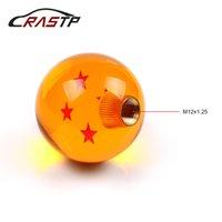 rennstock schaltknäufe großhandel-RASTP-Dragon Ball 4 Sterne Schaltknöpfe Racing Stick Cool Acryl Star Ball Schaltknauf für Universal Kfz-Zubehör RS-SFN042