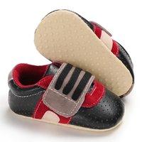 bebekler için düşmüş ayakkabılar toptan satış-Bebek Boys Kız ilk yürüteç Yumuşak Sole Havalandırma Prewalker Tek ilkbahar sonbahar Lastik nefes bebek yürümeye başlayan ayakkabıları Ayakkabılar
